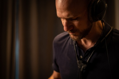 "Photo by David Beecroft, May 21st 2019 - ""Brain Drain"" recording at Blackbird Studio Berlin"